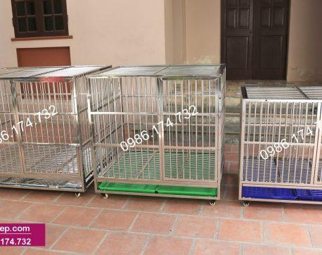 Chuồng chó inox tại Long An