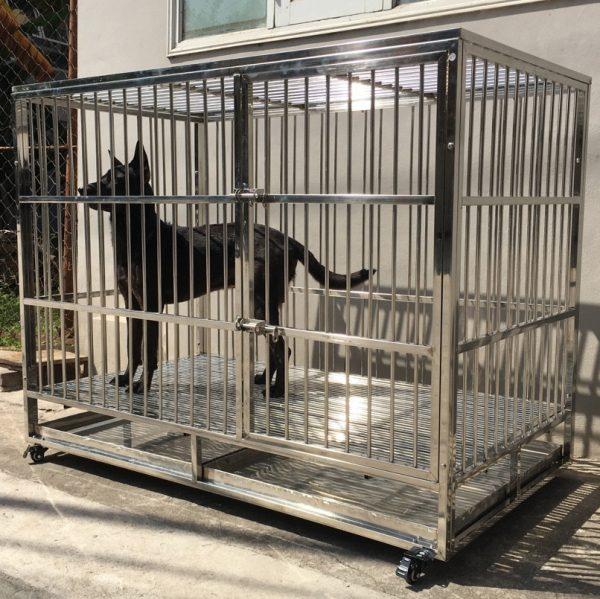 chuồng cho chó nặng từ 40 - 50 kg