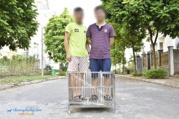mua chuồng chó lắp ghép tại Hà nội 02