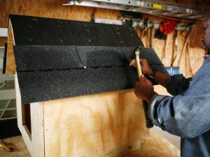 cachs làm chuồng chó bằng gỗ
