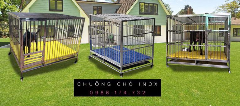 báo giá chuồng chó inox