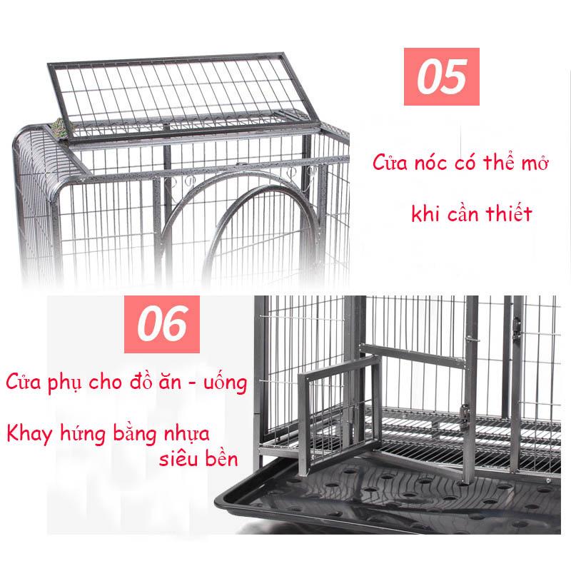 chuồng chó sắt giá rẻ S110 hải phòng