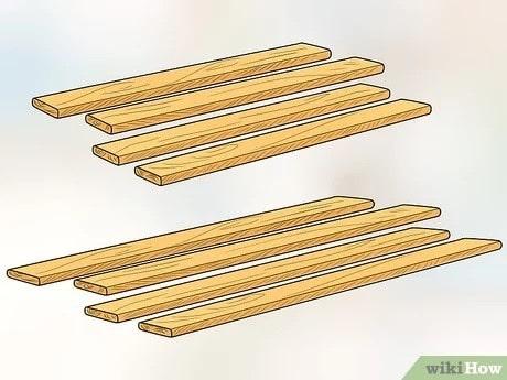 gỗ làm chuồng chó