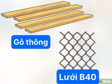 làm chuồng gỗ